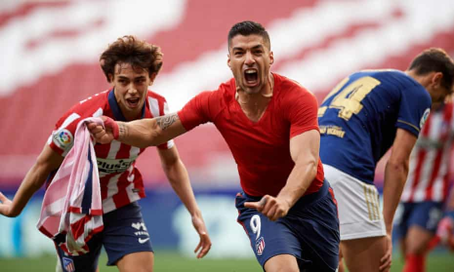 Atlético Madrid enter The Suárez Zone to tear up script in title drama   La  Liga   The Guardian
