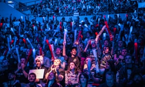 The crowd at the League of Legends Oceanic Pro League grand final