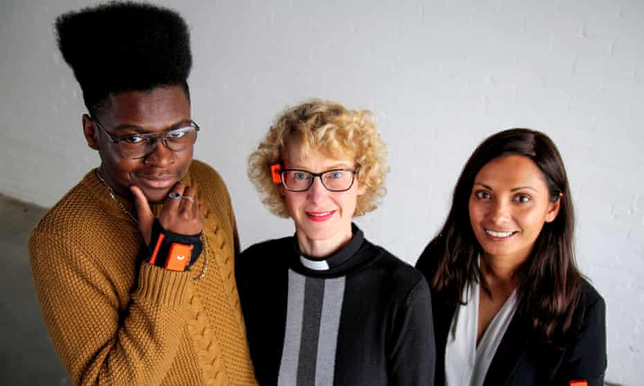 Would I lie to you … (from left) Ehiz, Ruth and Mo in Horizon: A Week Without Lying.