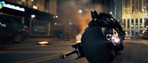 Lagos without the colour … a still from The Dark Night: Batman (2008) directed By Christopher Nolan.