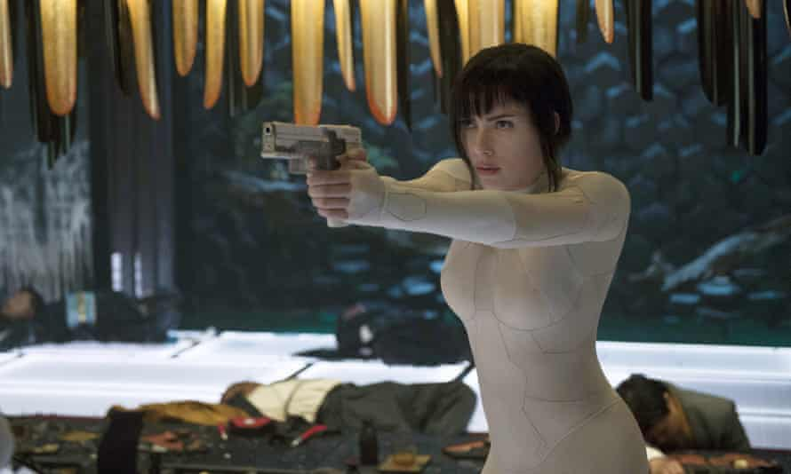 Scarlett Johansson Ghost in the Shell.