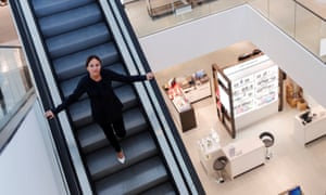 Downward path: former John Lewis managing director Paula Nickolds couldn't turn the tide at the department store