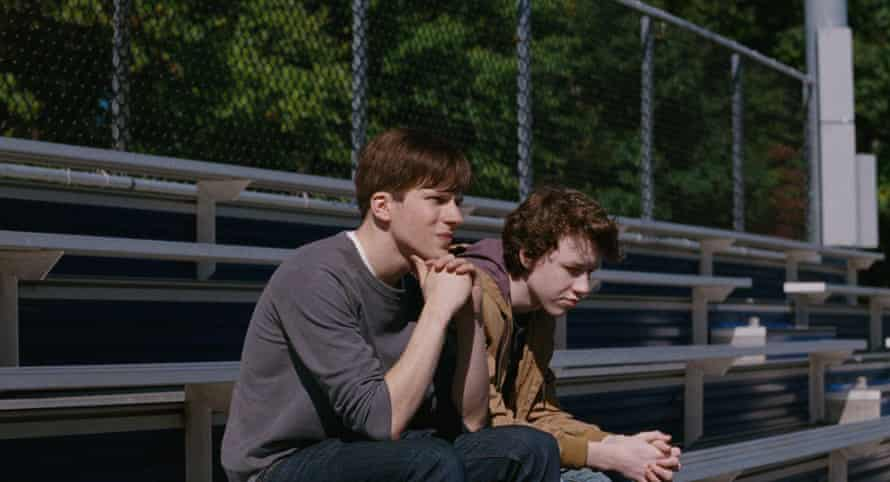 'The pulse of the film' … Jesse Eisenberg and Devin Druid as the troubled brothers in Louder Than Bombs, directed by Joachim Trier.