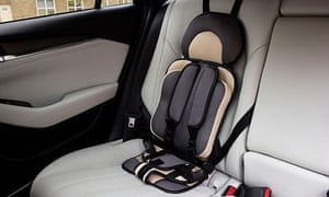 An illegal child car seat, found online by Which?