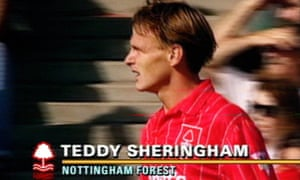 Teddy Sheringham scored the first televised Premier League goal, for Nottingham Forest against Liverpool.