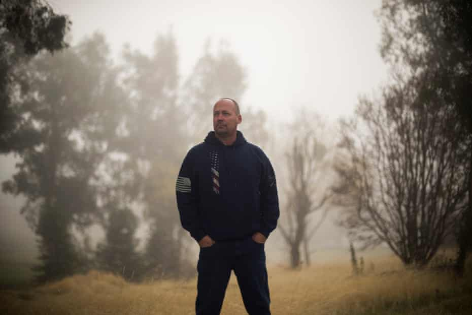 Rob Nichols, a police officer in Paradise, was one of the first to respond to the fire.