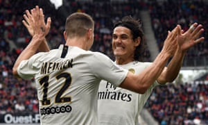 PSG won 3-0 at Rennes as they maintained their 100% record in Ligue 1.