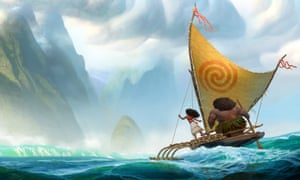 Setting sail for Christmas … Moana.