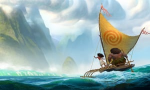 independent spirit moana and demigod maui in moana