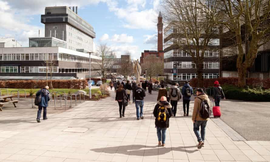 The University of Birmingham in Edgbaston