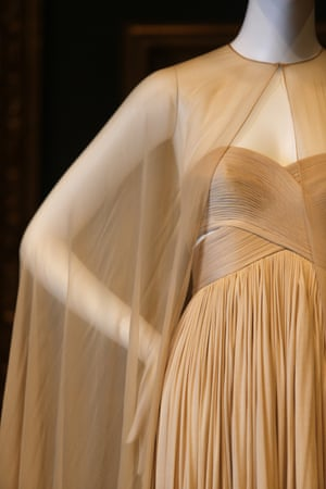 Evening dress (1980) by GrèsFrance silk (jersey, chiffon)