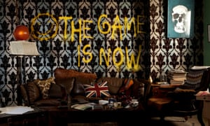A setting from the Sherlock: The Game Is Now escape room, London.