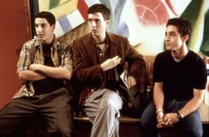 Jason Biggs, Eddie Kaye Thomas and Thomas Ian Nicholas in American Pie