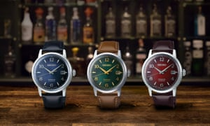 Japan's cocktail culture in Ginza inspires the Seiko Presage Cocktail Time collection.
