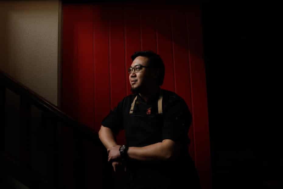 Restaurant head chef and founder of Ho Jiak restaurant Junda Khoo.