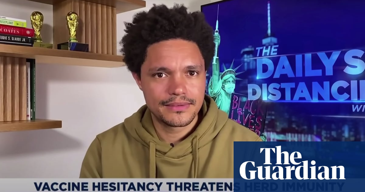 Trevor Noah: Covid to be 'one of those anti-virus pop-ups' you never delete