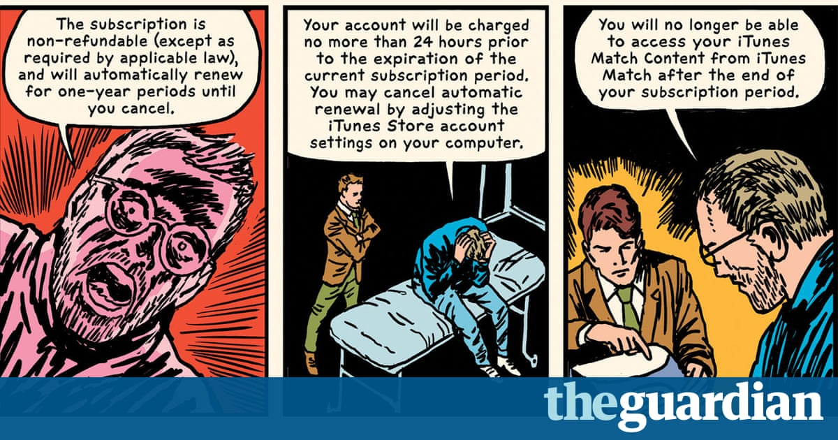 How the 20,699-word iTunes T&Cs became this year's hottest graphic novel
