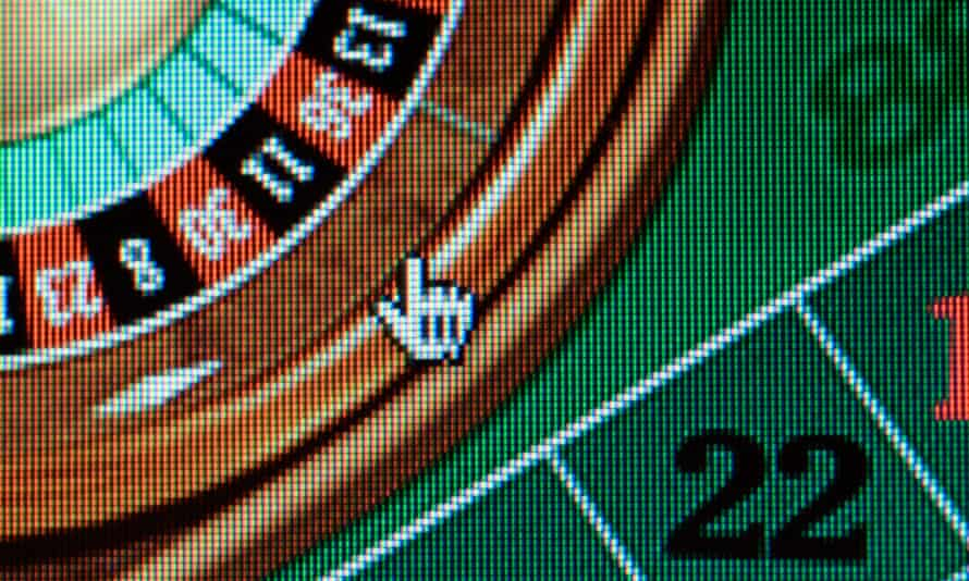 An internet casino game