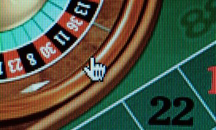 A roulette website