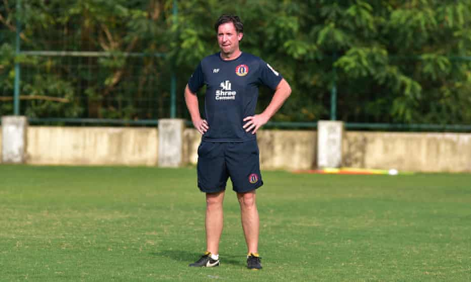 Robbie Fowler, the manager of SC East Bengal, says: 'I am exactly the same as a manager as I was as a player: I want to be better than anyone else.'