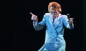 David Bowie … top of the pops, again!