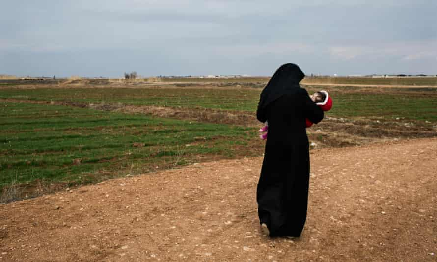 Sumaya, a Syrian from Aleppo province, married a French Islamic State fighter in February 2013. Her husband was killed in battle, and Sumaya fled to Turkey where she now lives in a refugee camp.