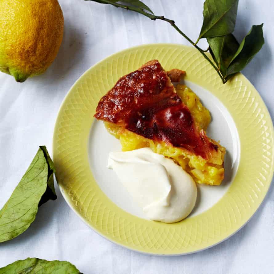 Shaker lemon pie.