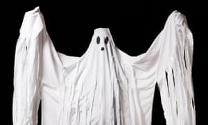 """Ghost Halloween costume"""