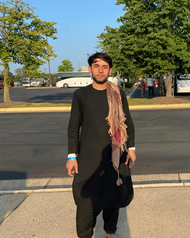 Abidullah Sarwan: 'I'm safe.'