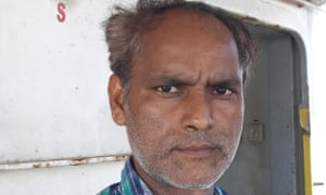 Sailor Vikash Mishra, who has been stranded on his ship for more than three years