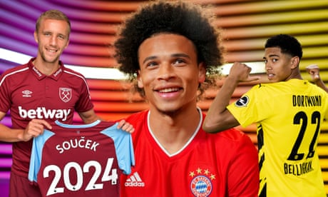 Men's transfer window summer 2020 – all deals from Europe's top five leagues
