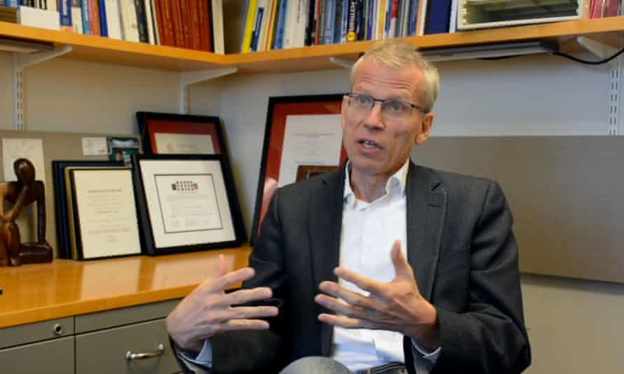 Dr Martin Kulldorff is a professor of medicine at Harvard medical school.