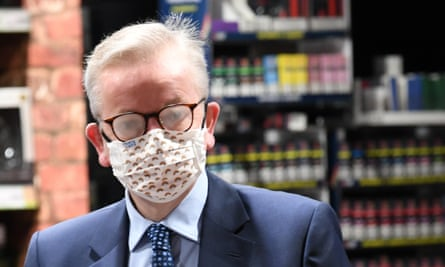 Gove … steamed up.