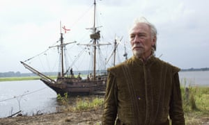 Christopher Plummer as Captain Newport in Terrence Malick's historical drama The New World, 2005