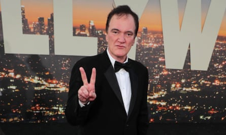 Tarantino at the LA premiere of Once Upon a Time ... in Hollywood.
