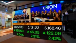 The closing bell on Wall Street tonight