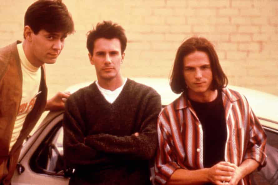 Carlos Jacott, Josh Hamilton and Jason Wiles in Noah Baumbach's 1995 film, Kicking and Screaming.