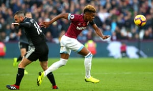 Grady Diangana (right) was West Ham's standout performer against Burnley.