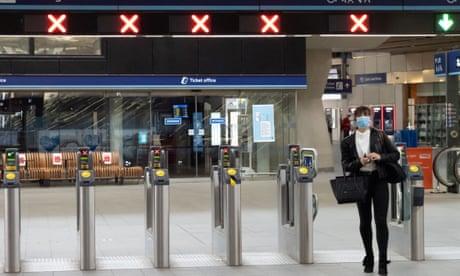 UK coronavirus live: thousands expected to return to work as train capacity increases