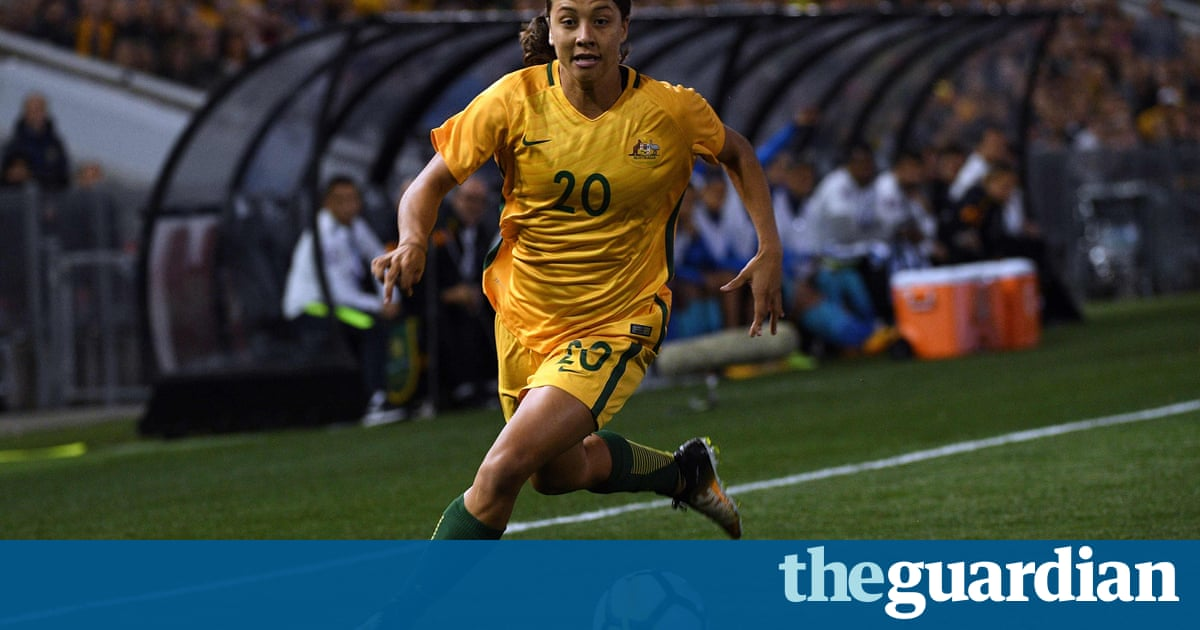 Outrage as Sam Kerr omitted from Fifa world player of the year shortlist