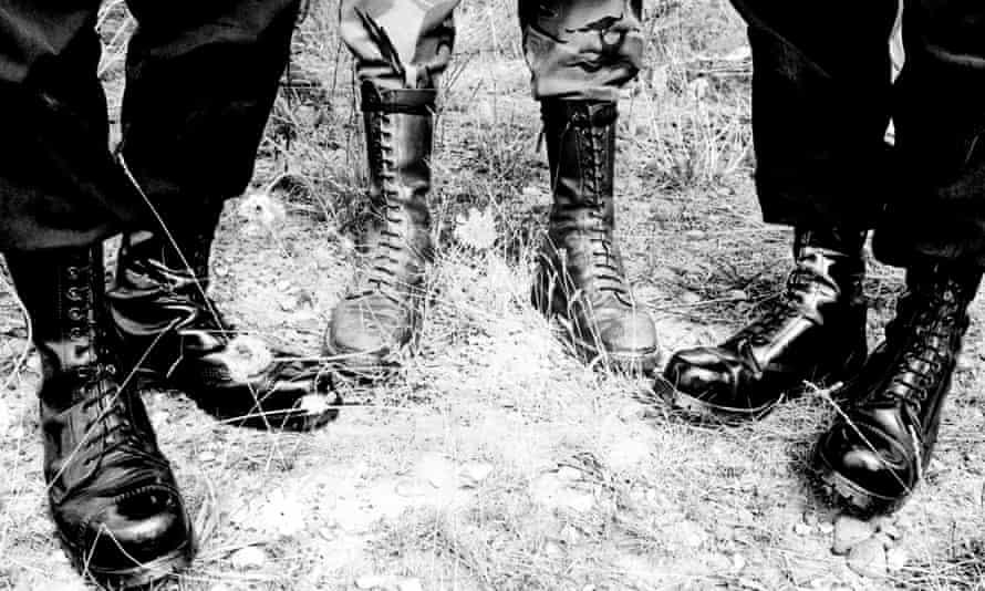Three pairs of boot.
