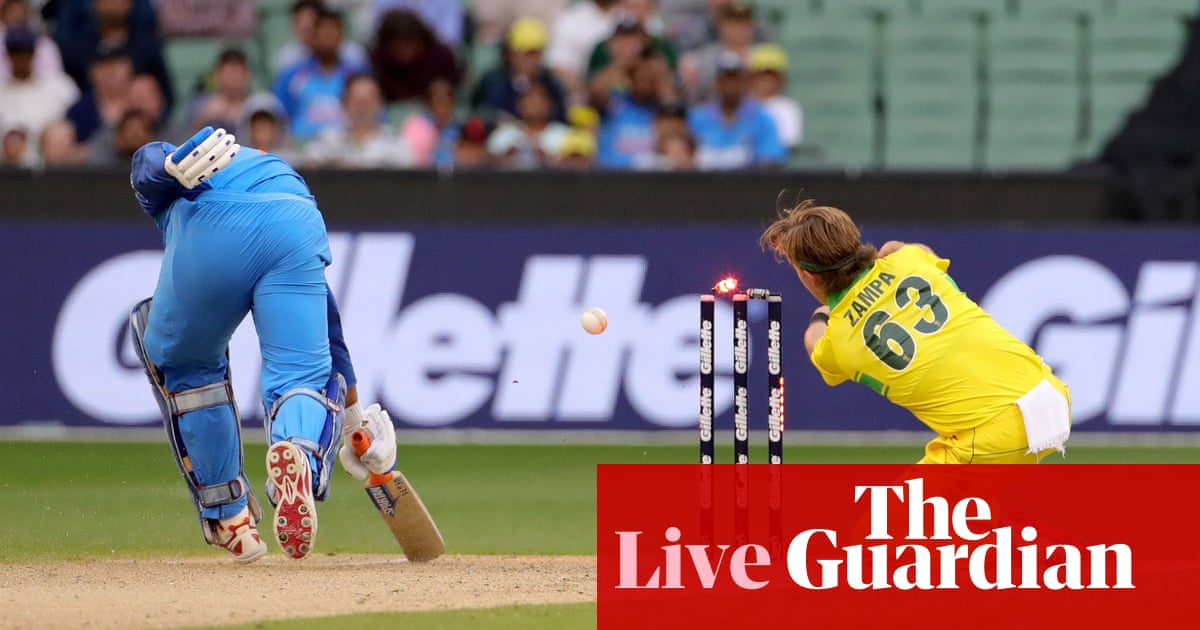 4cef0ca07d6 India beat Australia to win series  third one-day international – as it  happened