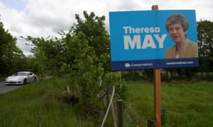A 2017 election poster in Maidenhead.