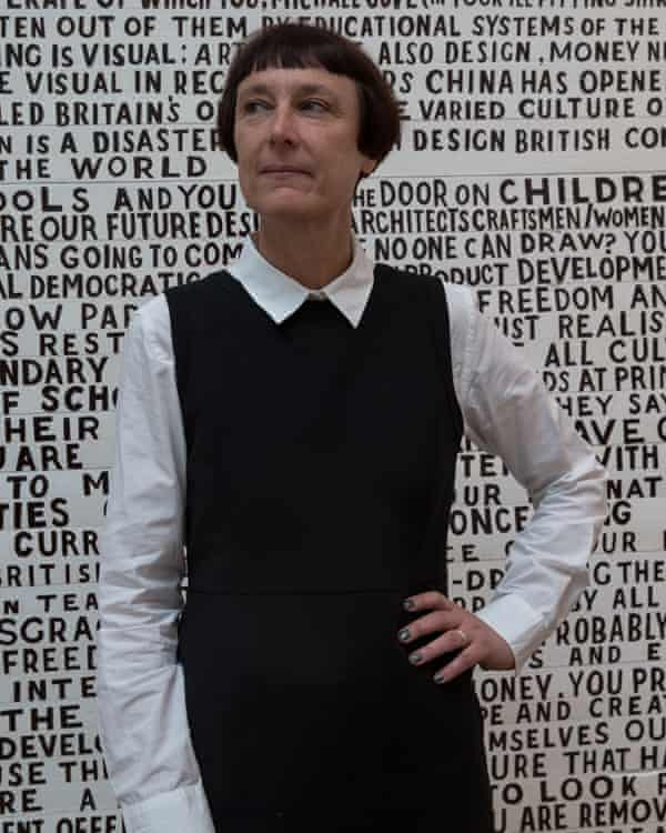 The curator of Found, artist Cornelia Parker