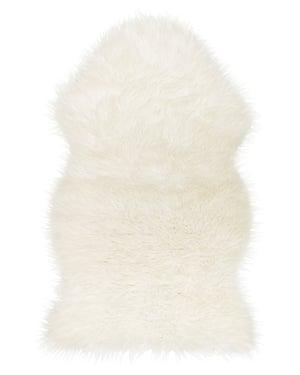 White Tejn rug, Ikea, £10