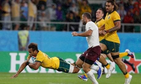Australia v Georgia: Rugby World Cup 2019 – as it happened