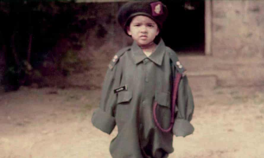 Priyanka Chopra Jonas in her father's military uniform