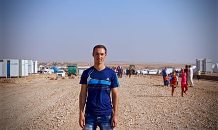 Mahmud Sabah, 20, from Mosul.