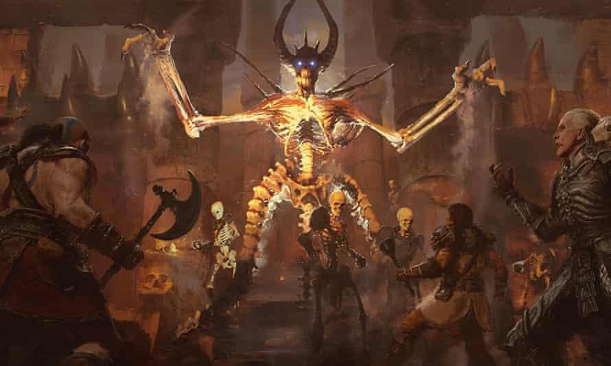 Diablo II Resurrected.