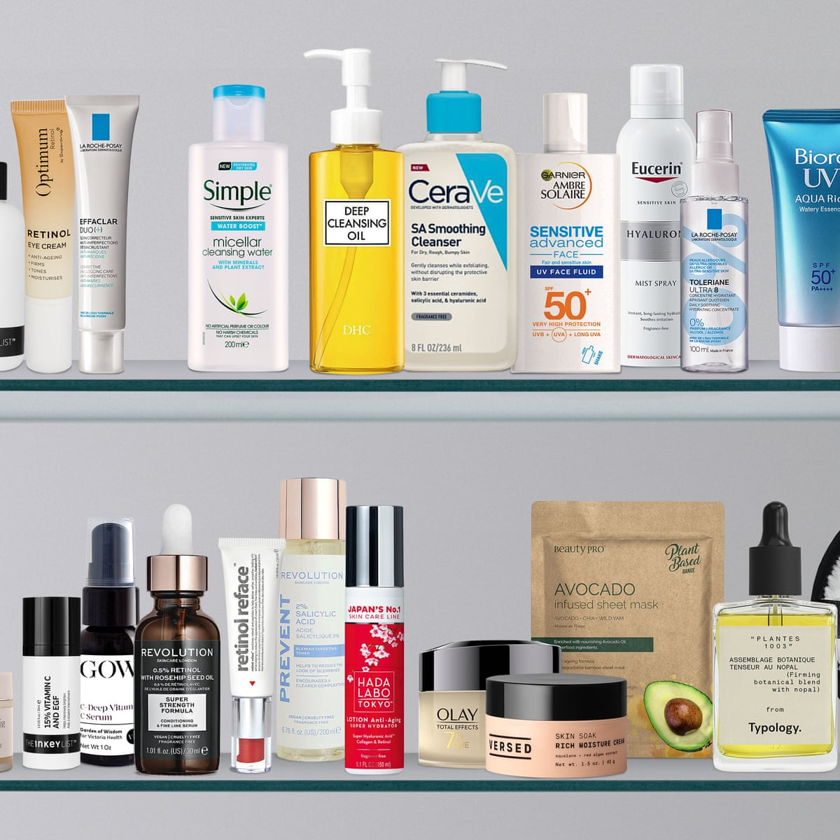 The 30 Best Facial Skincare Products For Under 20 Skincare The Guardian